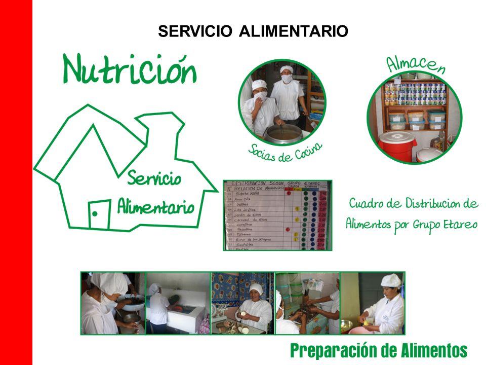 SERVICIO ALIMENTARIO
