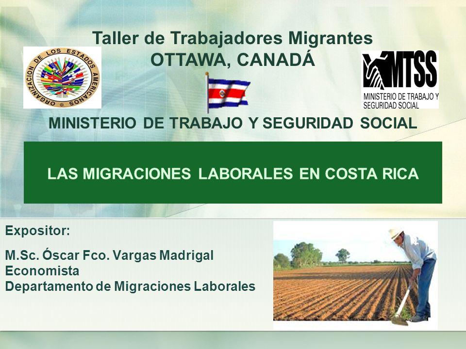 IMPACTO DE LA MIGRACIÓN EN LAS TENDENCIAS DEMOGRÁFICAS COSTARRICENSES La migración internacional futura puede incrementar entre un 24% y un 45% el crecimiento natural de la población de Costa Rica en el año 2025.