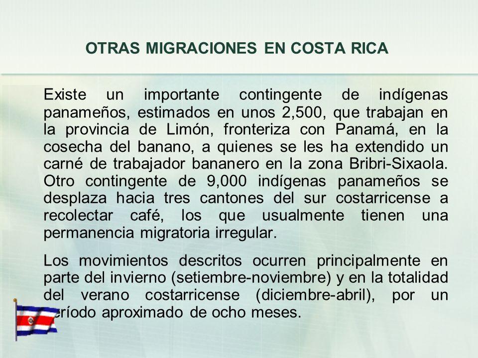 LOS TRABAJADORES TEMPORALES EXTRANJEROS EN ACTIVIDADES AGRÍCOLAS Y AGROINDUSTRIALES Una vez concluida su permanencia legal en Costa Rica, Inspección d