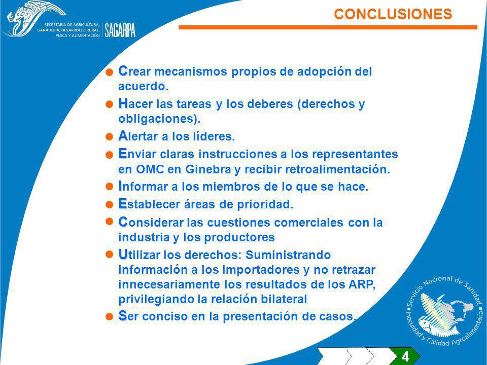 C C rear mecanismos propios de adopción del acuerdo.