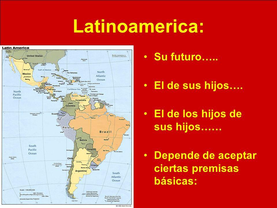Latinoamerica: Su futuro….. El de sus hijos…. El de los hijos de sus hijos…… Depende de aceptar ciertas premisas básicas: