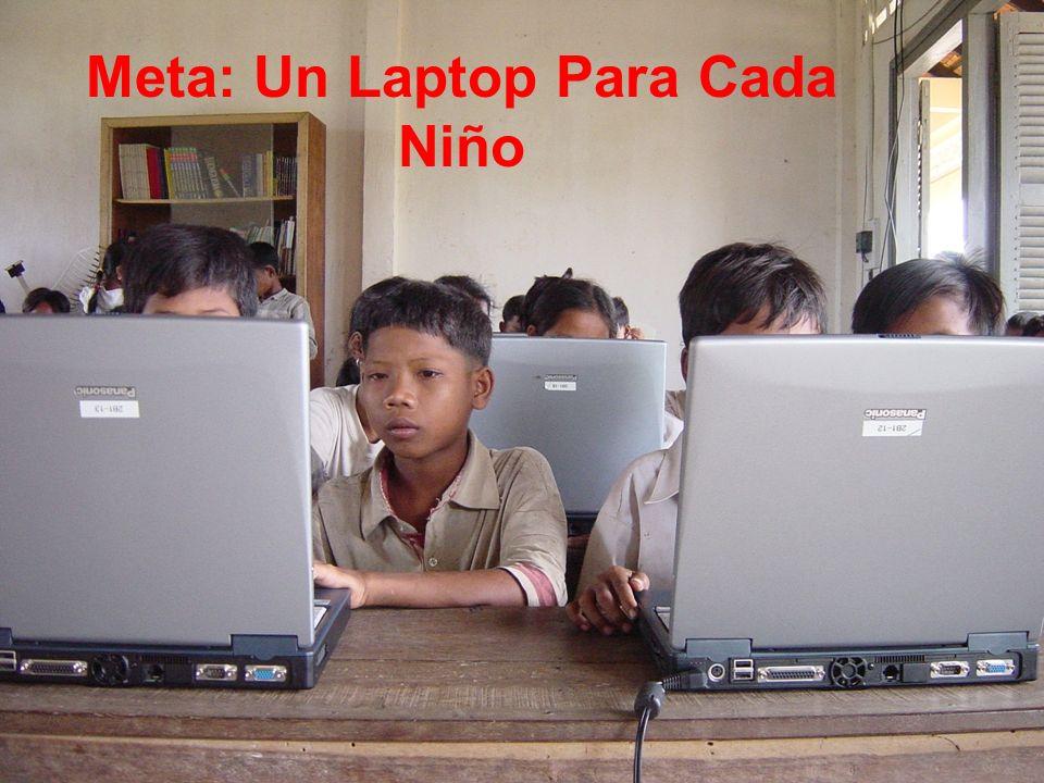 Meta: Un Laptop Para Cada Niño