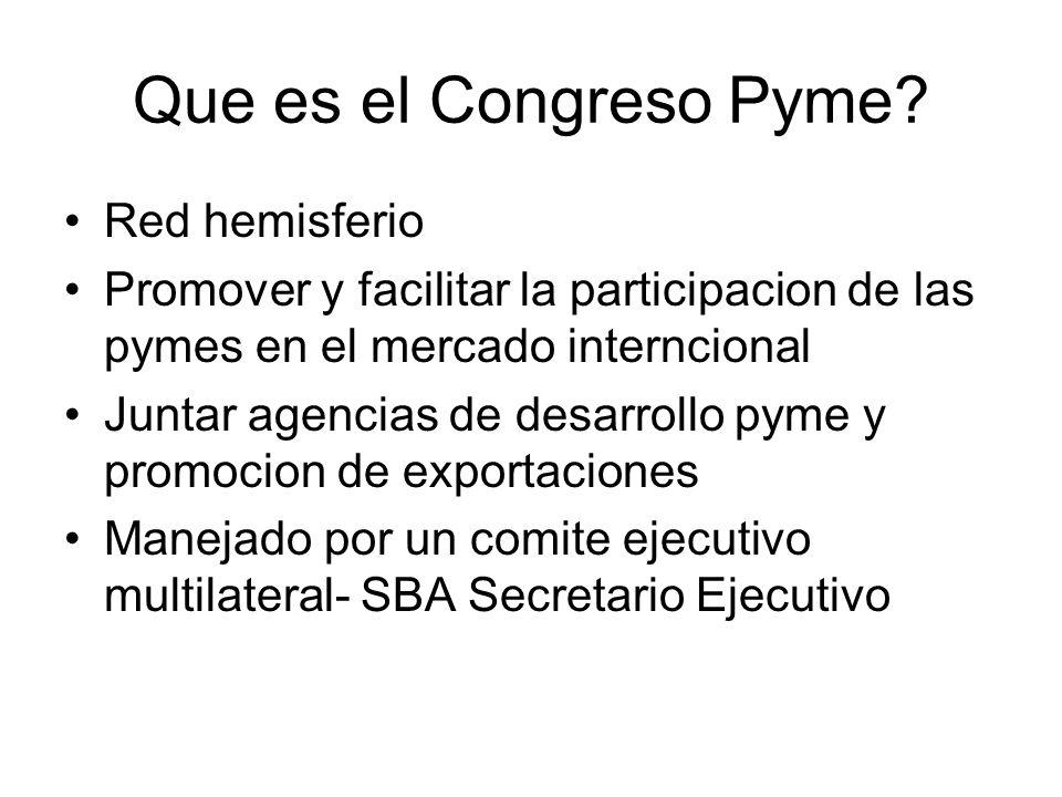 Que es el Congreso Pyme.