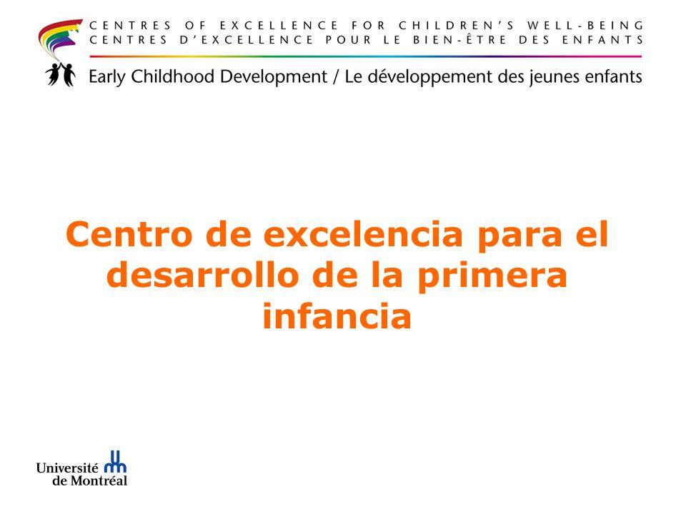 Centro de excelencia para el desarrollo de la primera infancia
