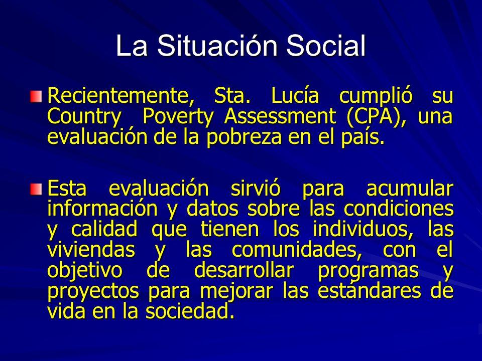 Las Indigencia y la Pobreza 19952005 Viviendas de las personas en situaciones de pobreza 18.721.4 Población en situación de pobreza 25.128.8 Casas Indigentes 5.31.2 Población Indigente 7.11.6 Coeficiente de Gini 0.50.42 La indigencia y la pobreza comparadas en los años de 1995 y 2005/06 (en porcentaje)