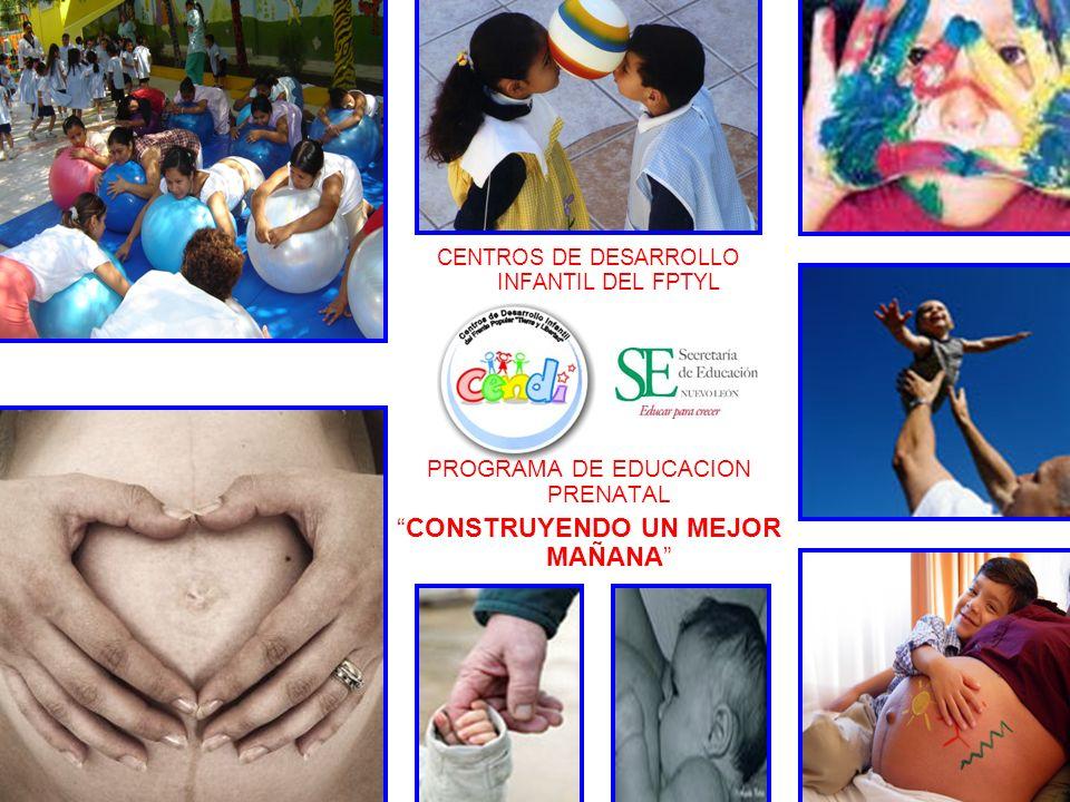 CENTROS DE DESARROLLO INFANTIL DEL FPTYL PROGRAMA DE EDUCACION PRENATAL CONSTRUYENDO UN MEJOR MAÑANA