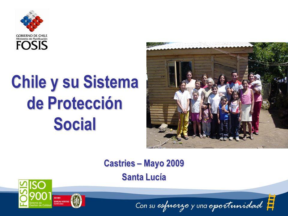 Chile y su Sistema de Protección Social Castries – Mayo 2009 Santa Lucía