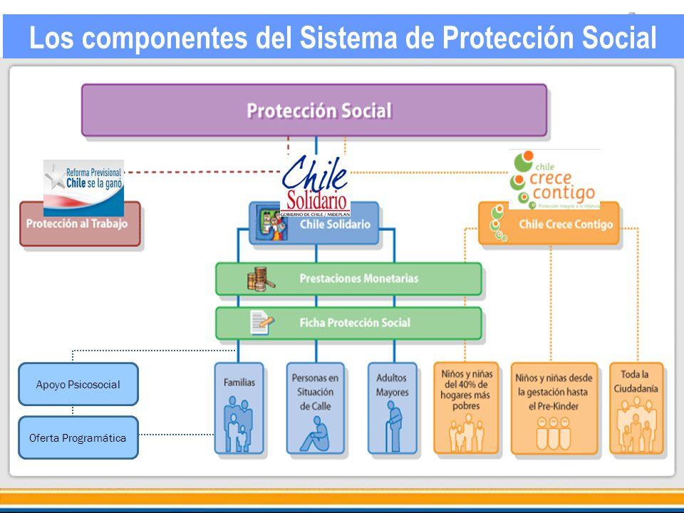 Apoyo Psicosocial Oferta Programática Los componentes del Sistema de Protección Social
