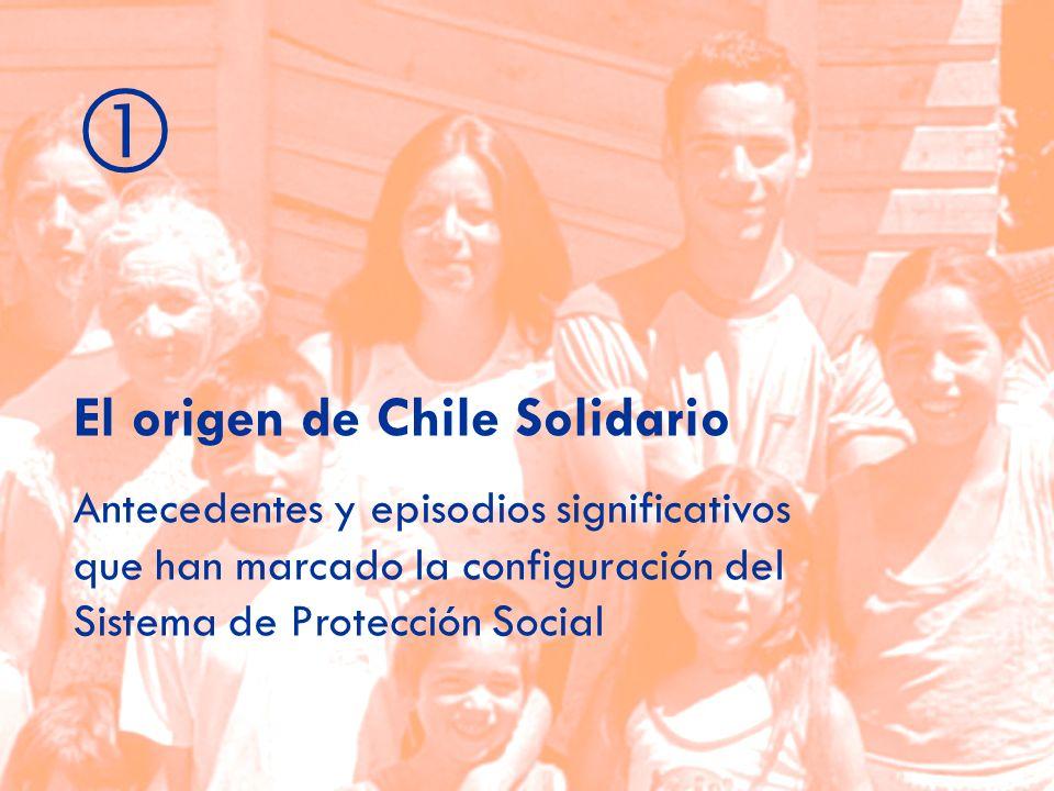 El origen de Chile Solidario Antecedentes y episodios significativos que han marcado la configuración del Sistema de Protección Social