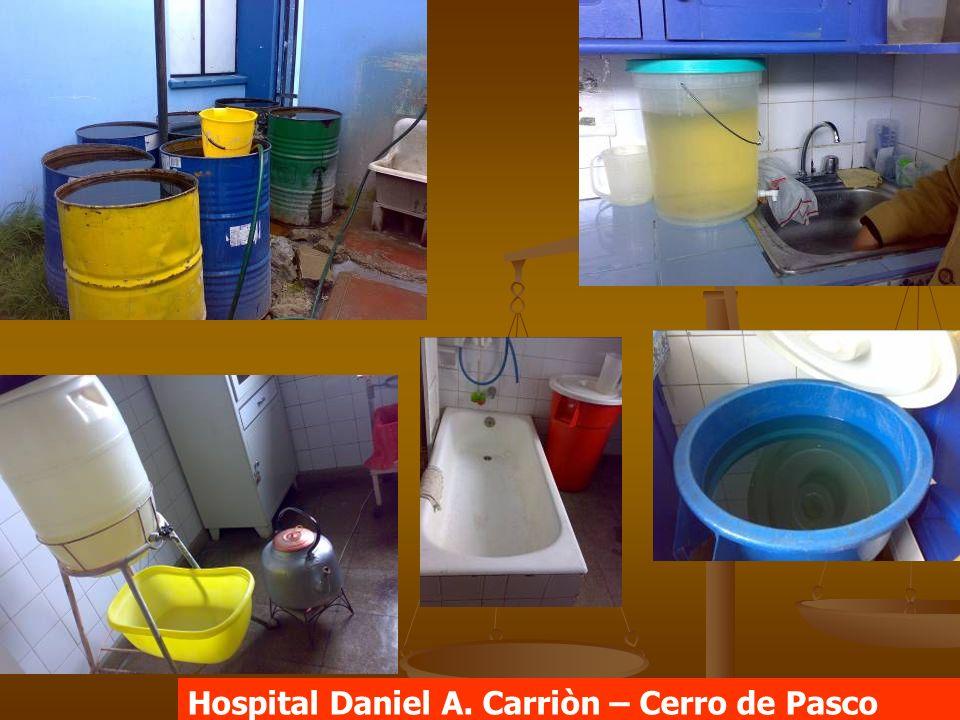 Hospital Daniel A. Carriòn – Cerro de Pasco
