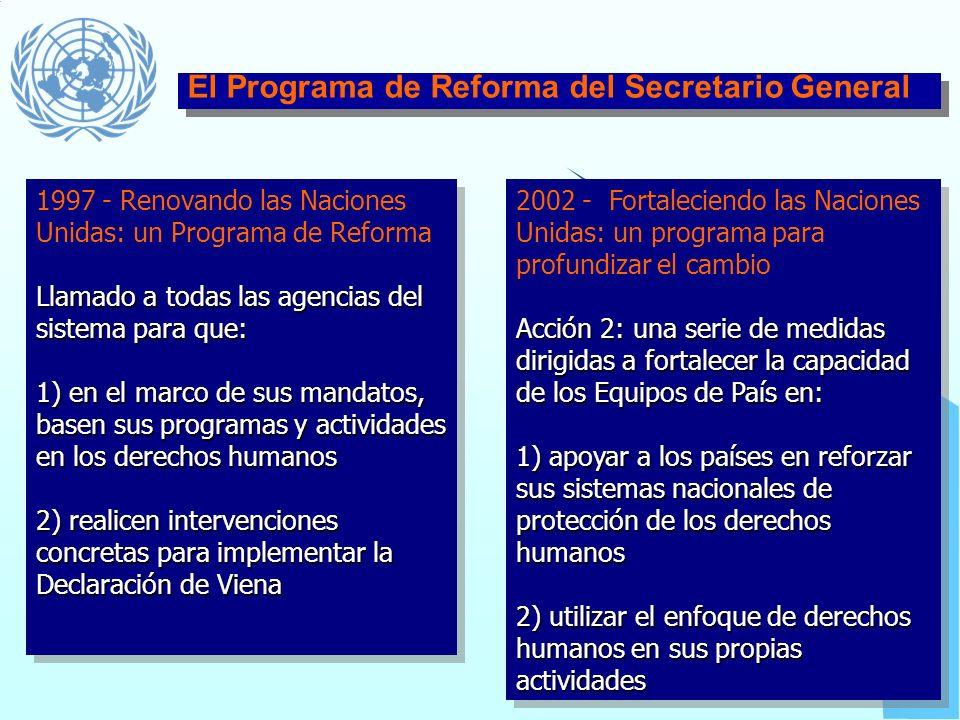 Convención Internacional sobre la Eliminación de todas las Formas de Discriminación Racial (CERD) – 1965/69 Convención contra la Tortura y Otros Trato