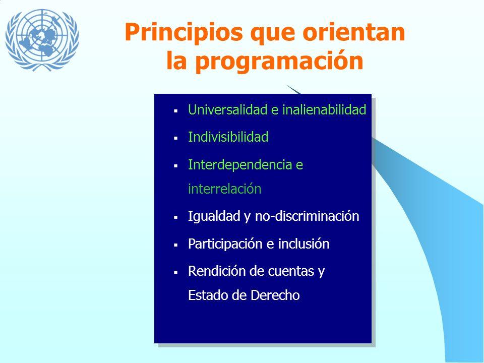 Estándares de Derechos Humanos Establecen los criterios para medir la realización de los derechos humanos contemplados en los instrumentos internacion