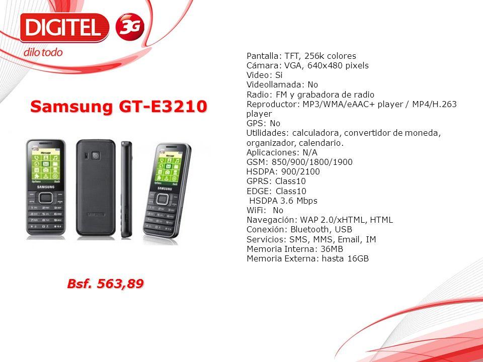 Samsung GT-E3210 Bsf.