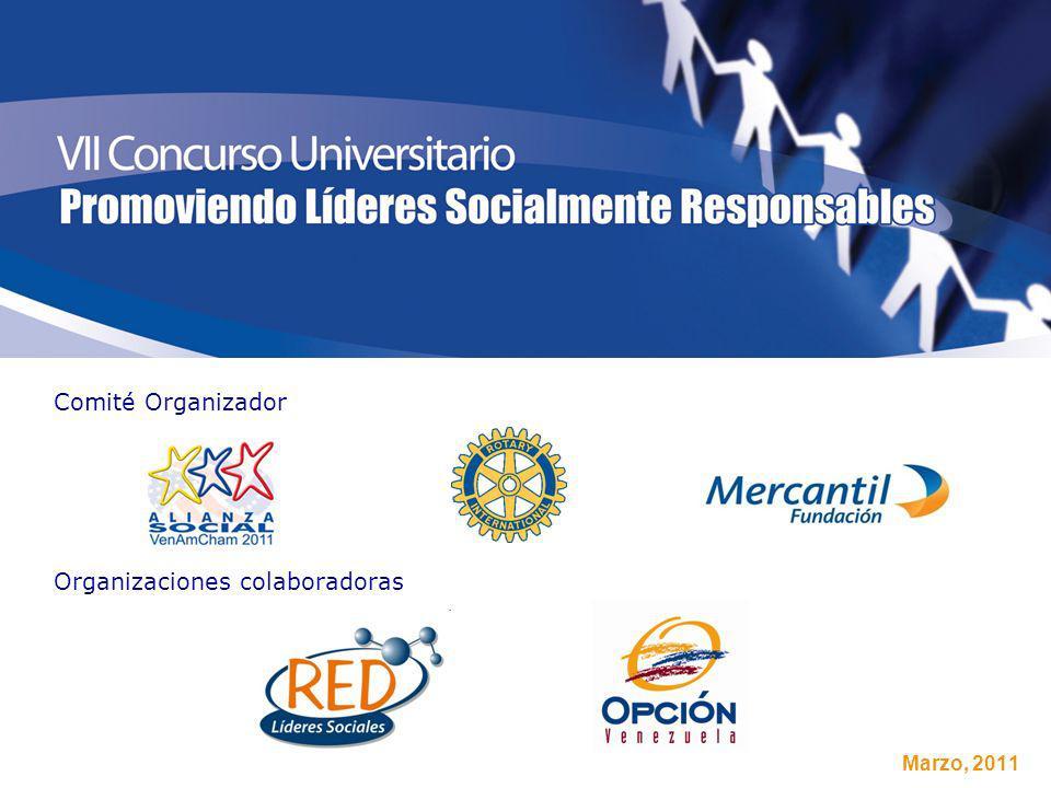 Marzo, 2011 Comité Organizador Organizaciones colaboradoras