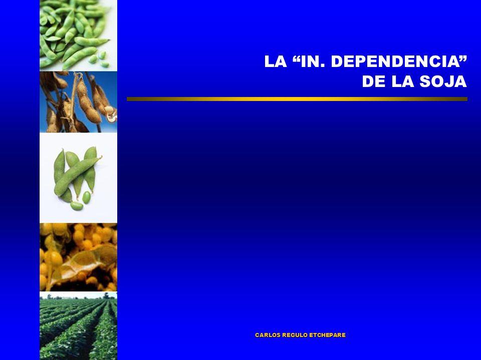 LA IN. DEPENDENCIA DE LA SOJA CARLOS REGULO ETCHEPARE