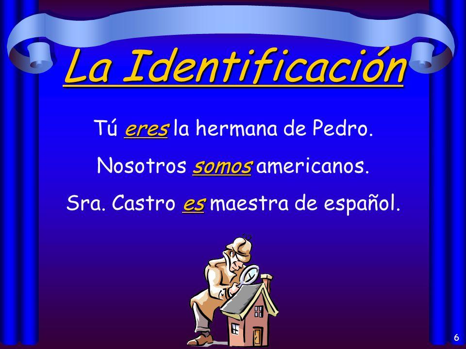 5 El Origen somos Juan y yo somos de España. es El libro es de Guatemala.