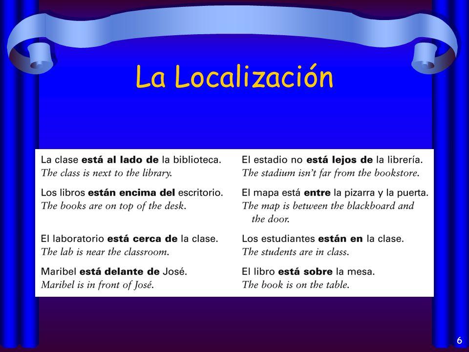 6 La Localización
