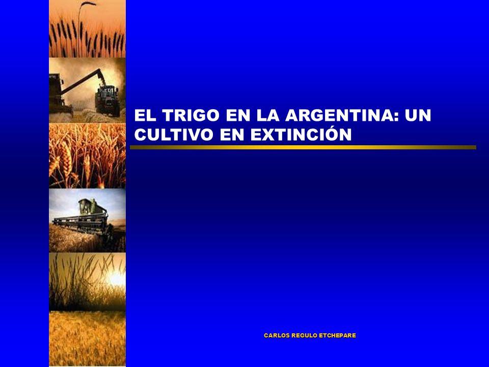 CARLOS REGULO ETCHEPARE EL TRIGO EN LA ARGENTINA: UN CULTIVO EN EXTINCIÓN