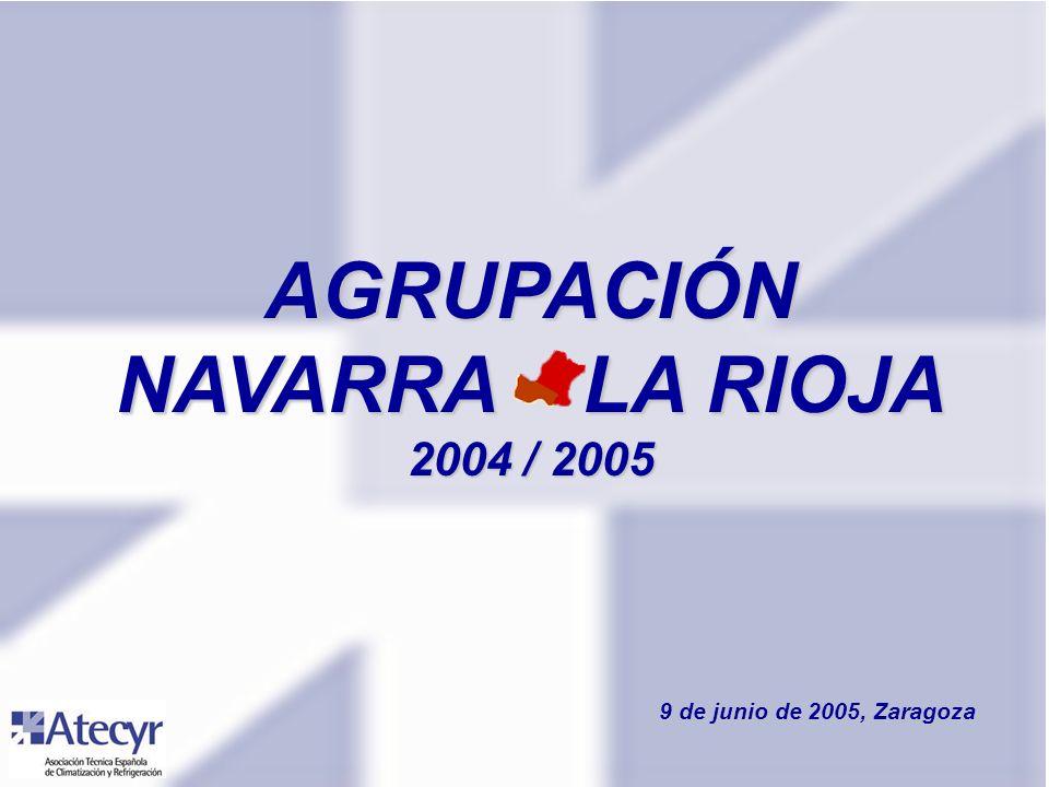 AGRUPACIÓN NAVARRA – LA RIOJA 2004 / 2005 9 de junio de 2005, Zaragoza