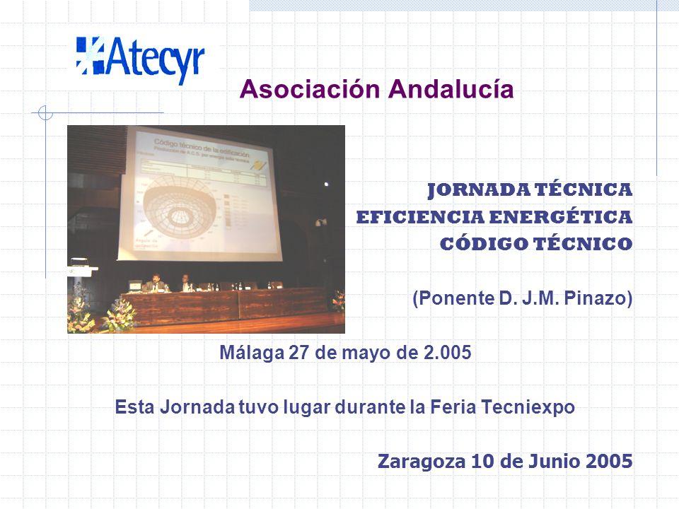 SALÓN MULTISECTORIAL DE LA INSTALACIÓN TECNIEXPO MÁLAGA DEL 26 AL 28 DE MAYO 2.005 COLABORACIÓN CON TECNIEXPO MEDIANTE STAND EN LA FERIA Zaragoza 10 d