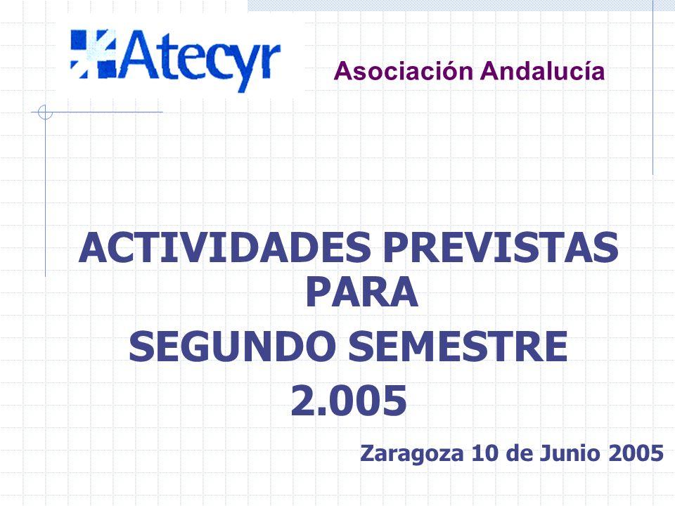 Asociación Andalucía JORNADA TÉCNICA EFICIENCIA ENERGÉTICA CÓDIGO TÉCNICO (Ponente D. J.M. Pinazo) Málaga 27 de mayo de 2.005 Esta Jornada tuvo lugar