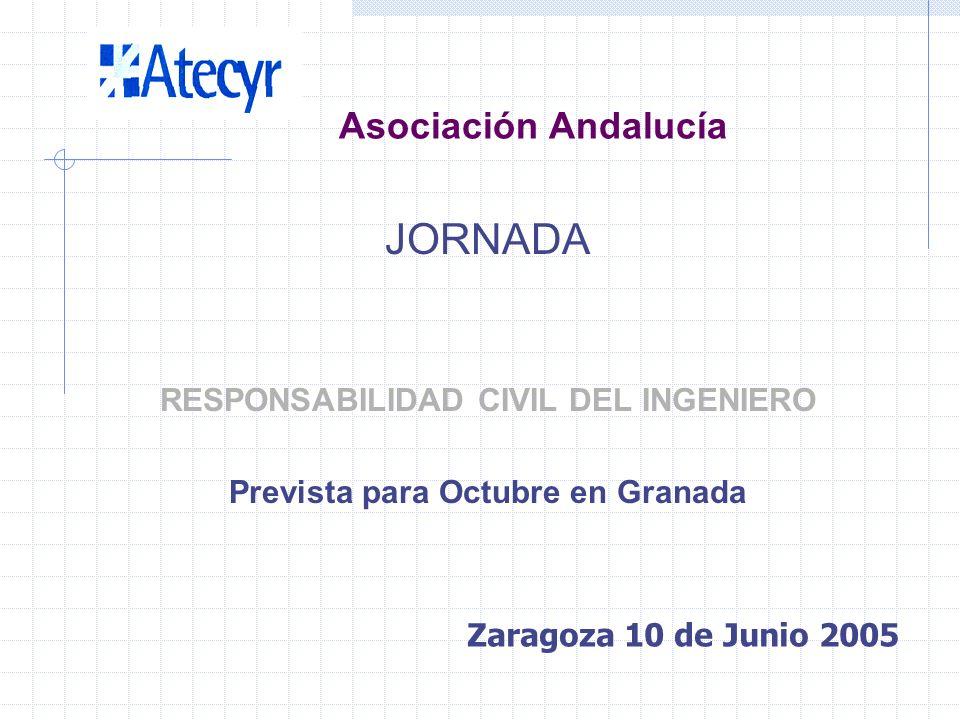 Asociación Andalucía JORNADA ENERGÍA SOLAR Prevista para impartir en Jaén Para Septiembre Zaragoza 10 de Junio 2005