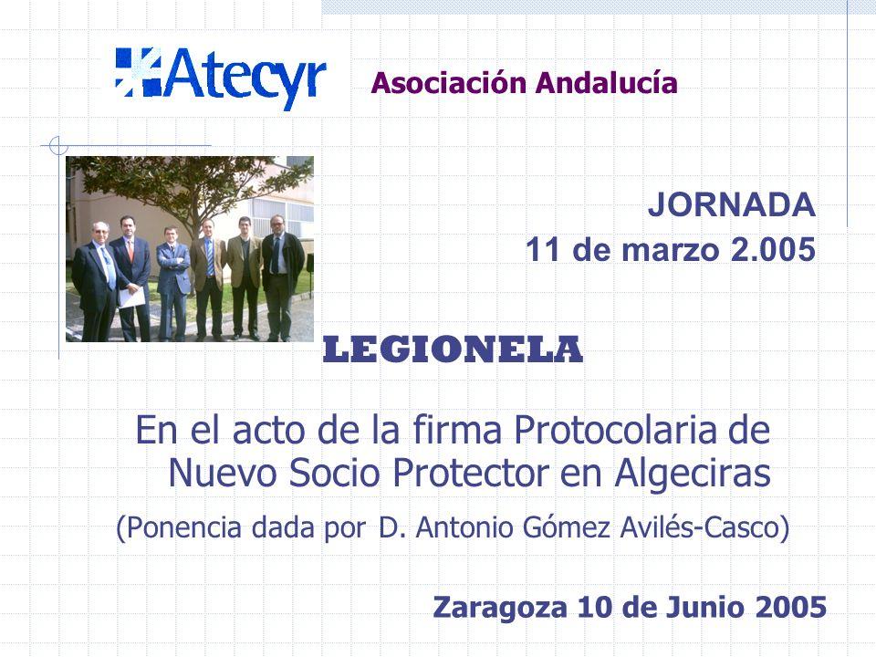 Asociación Andalucía JORNADA DTIE 9.03 SISTEMAS DE CLIMATIZACIÓN PARA VIVIENDAS, RESIDENCIAS Y LOCALES COMERCIALES (Ponente: D. Felipe Cebrián Quesada