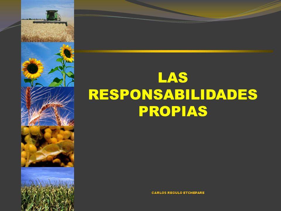 PARA PRESTARLE ANTENCIÓN EN EL CORTO PLAZO RELACIÓN CON LA AFIP – MERCADOS INFORMALES LEY ARRENDAMIENTOS EXTRANJERIZACIÓN DE TIERRAS COMPLICACIONES POSIBLES EN EL CONTEXTO NACIONAL INFLACIÓN RESPONSABILIDAD EN LA OPOSICIÓN LOS BENEFICIOS DEL SECTOR EFICIENCIA PRODUCTIVA MERCADO MUNDIAL