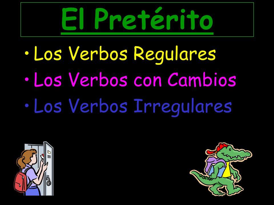 Más Práctica Escribe la forma del pretérito.1.Yo __________(cruzar) la calle para ir al teatro.