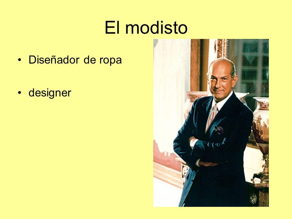 El modisto Diseñador de ropa designer
