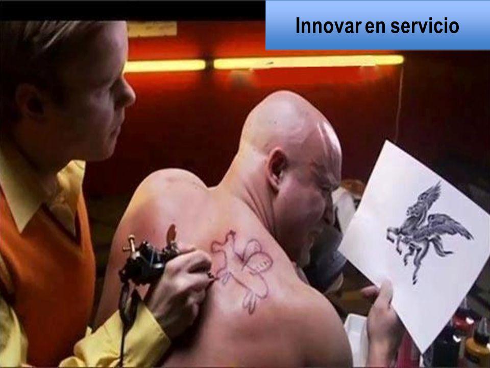 Innovar en servicio
