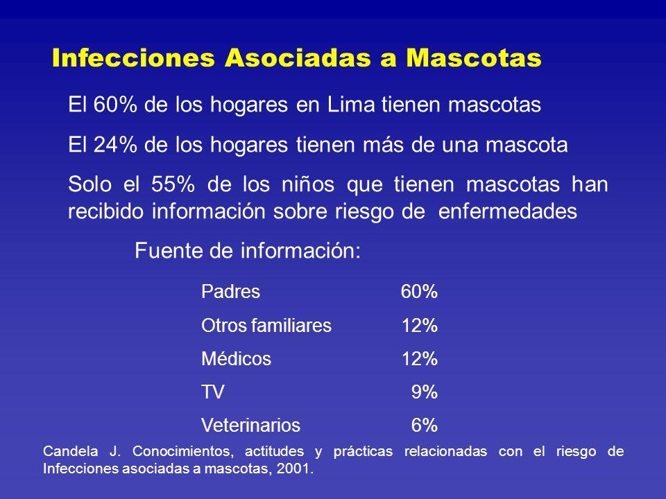 16 % 49 % 23 % 4 % 3 % 2 % 1 % (silvestres) Mascotas más frecuentes Candela J.