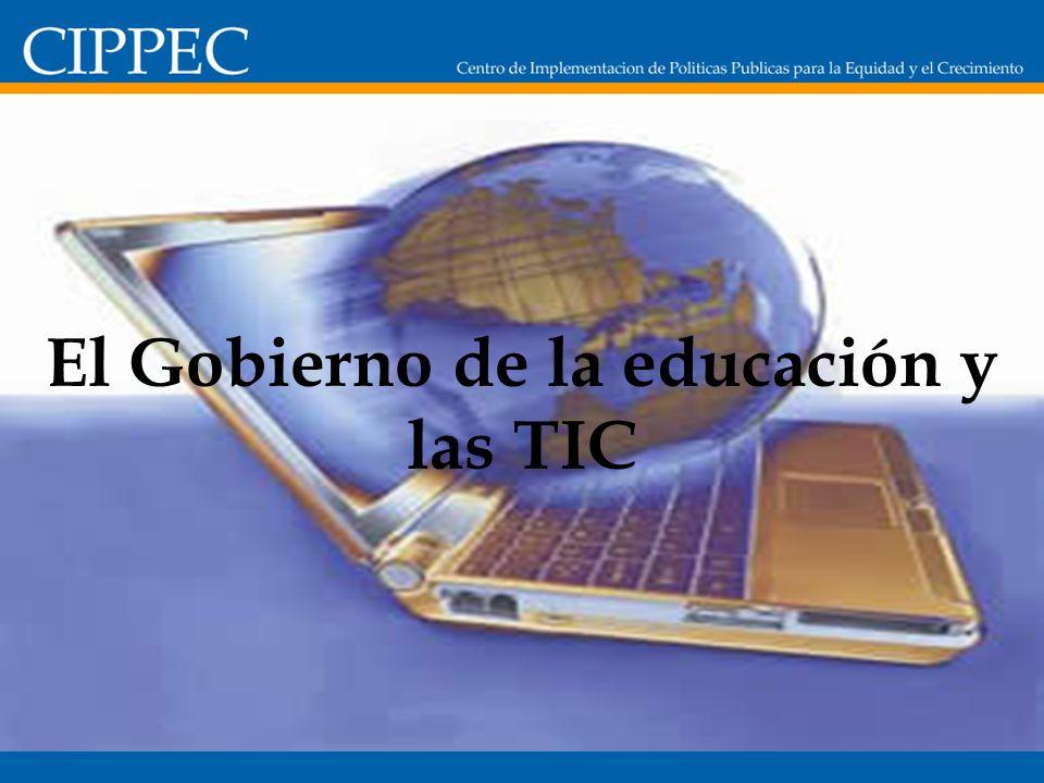 El Gobierno de la educación y las TIC