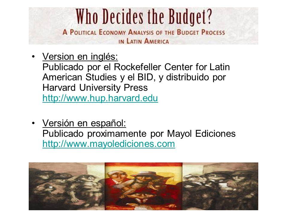 Es el resultado del esfuerzo de un conjunto innumerable de personas: –BID –DFID –OECD –Banco Mundial –Centros en América Latina CIPPEC, Fedesarrollo, etc –Académicos en América Latina, Europa y EEUU