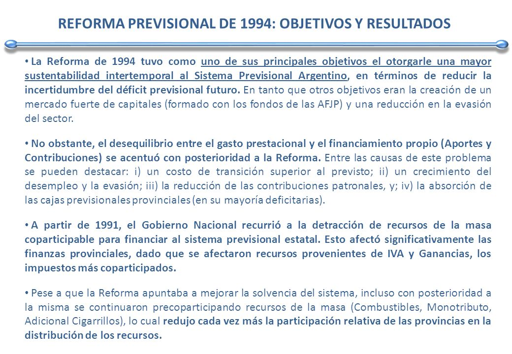 En este contexto, a lo largo del período post Convertibilidad, las transferencias automáticas a provincias se han ubicado, en promedio, por debajo de la garantía del 34% establecida en el artículo 7º de la Ley Nº 23.548 de Coparticipación Federal.