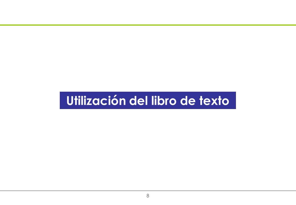 19 El acceso a la propiedad del libro de texto es significativamente más alto entre los alumnos del EGB1 que entre los del EGB 2.