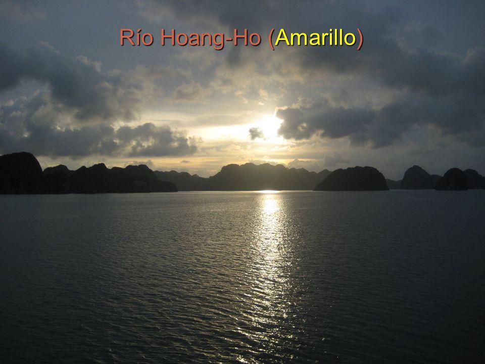 4 Río Hoang-Ho (Amarillo)