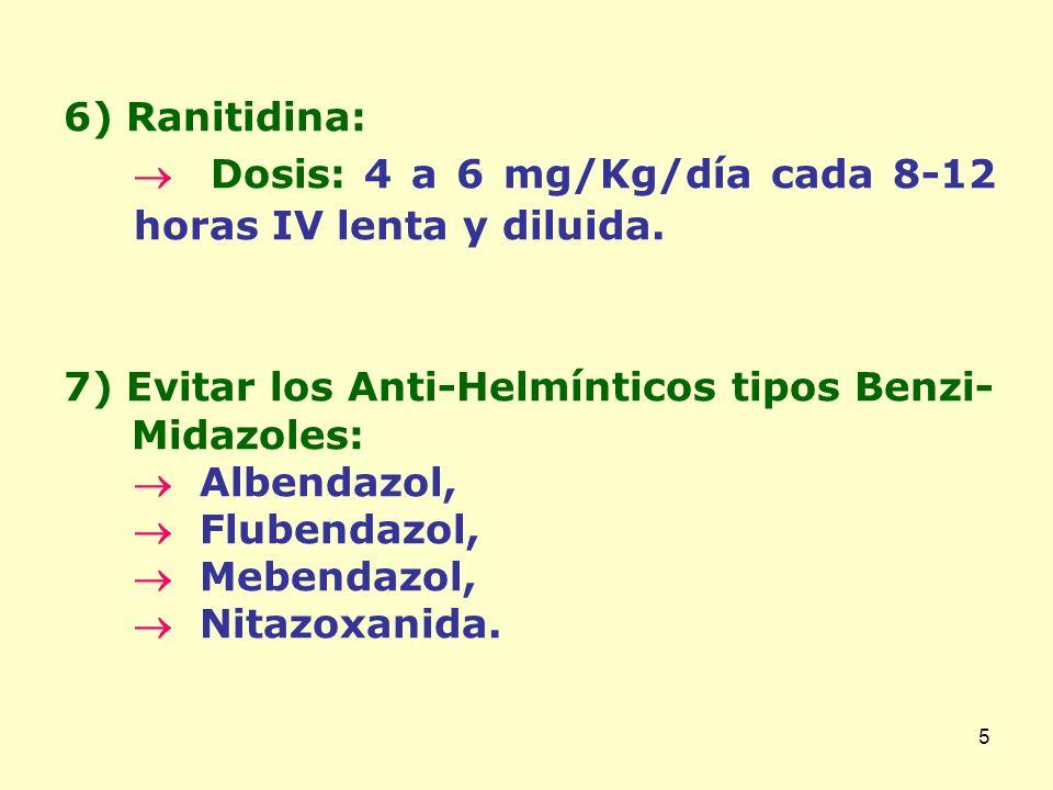 6 8) Aceite Mineral o Aceite de Ricino: Finalidad: Lubricar las superficies externas de los áscaris, permitiendo que se deslicen unos sobre los otros para deshacer el bolo.