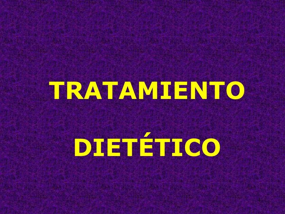 25 TRATAMIENTO DIETÉTICO EVITAR ALIMENTOS QUE SEAN MUY CALIENTES O MUY FRÍOS.