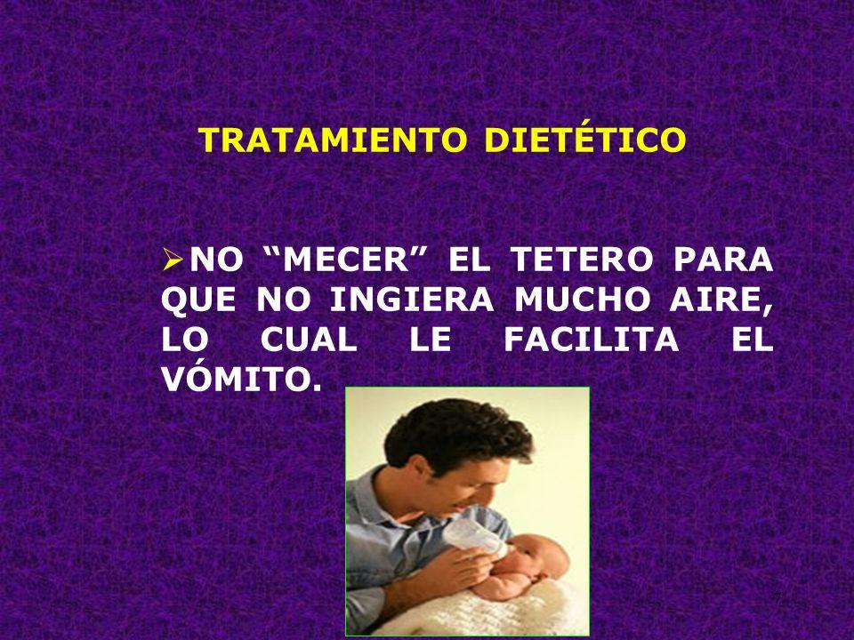 28 TRATAMIENTO DIETÉTICO REDUCIR EL PESO A LOS LACTANTES Y NIÑOS OBESOS.