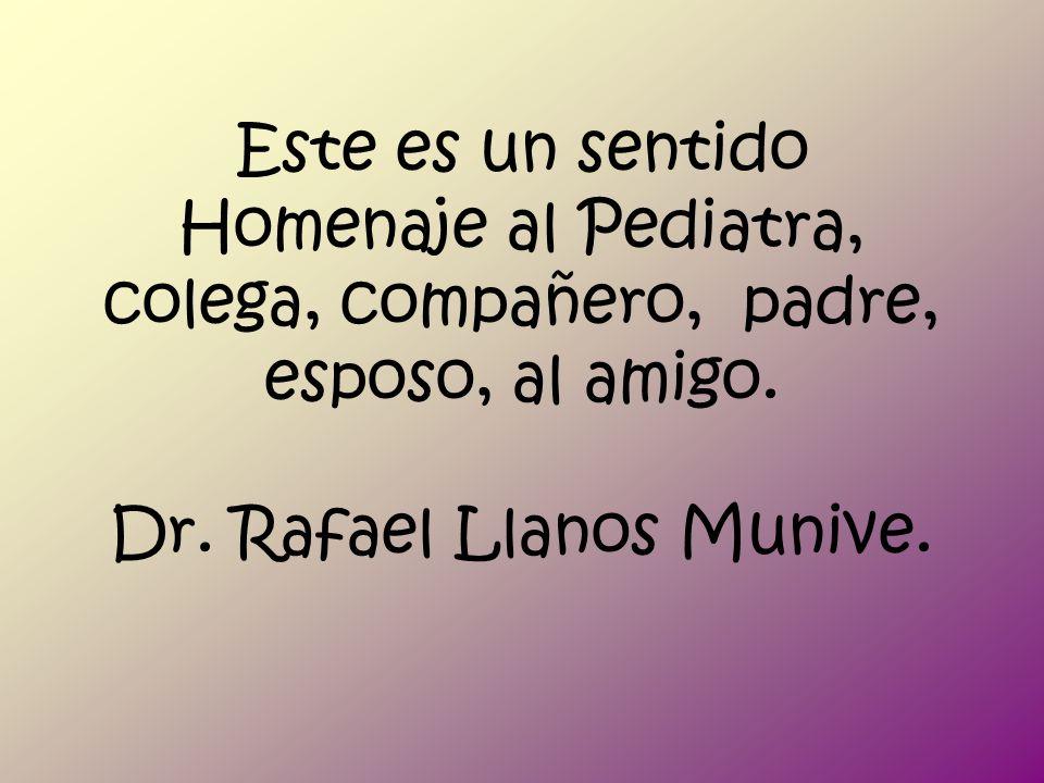 XLIX Semana Pediátrica y Tercer Plenum de Residentes Dr. Rafael Llanos Munive