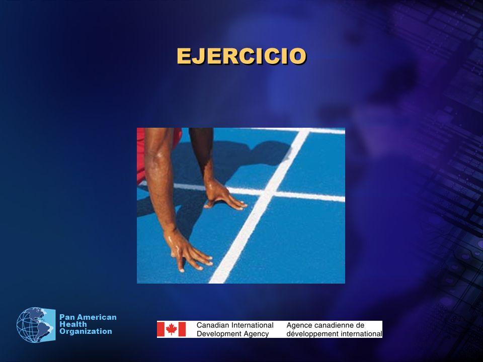 Pan American Health Organization EJERCICIO