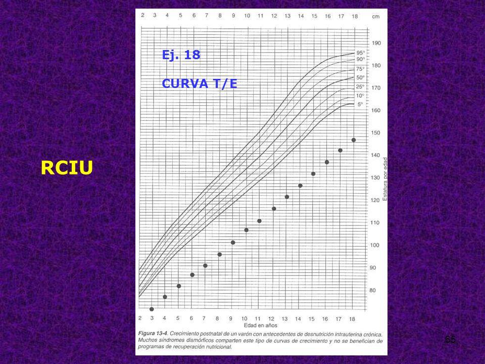 65 Ej. 18 CURVA T/E RCIU