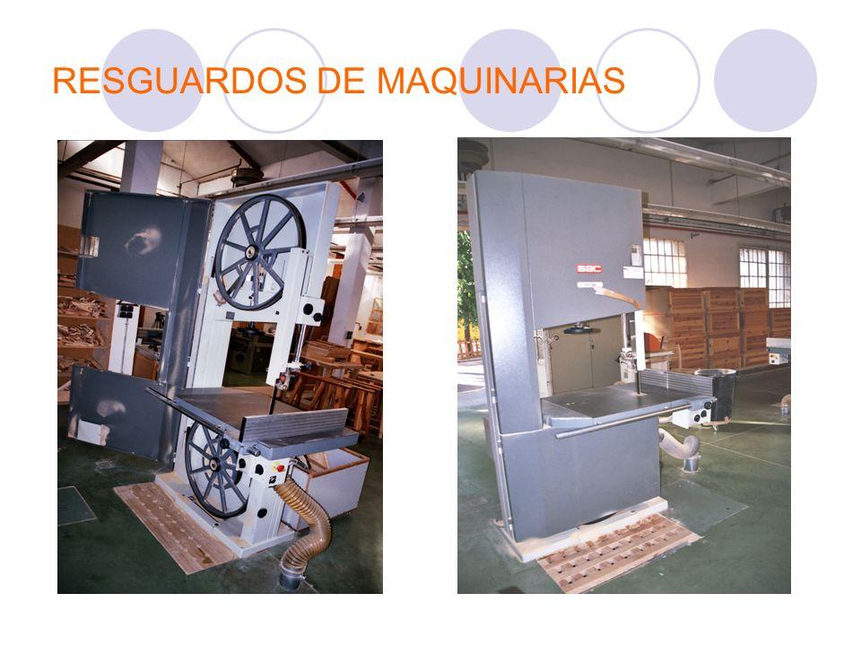 RESGUARDOS DE MAQUINARIAS