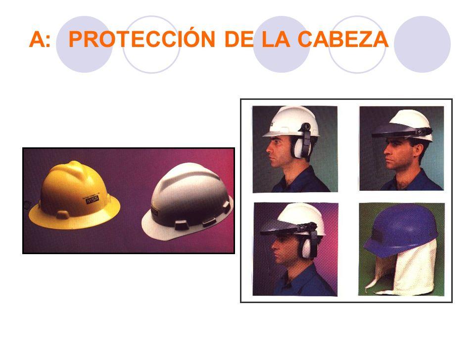 A:PROTECCIÓN DE LA CABEZA