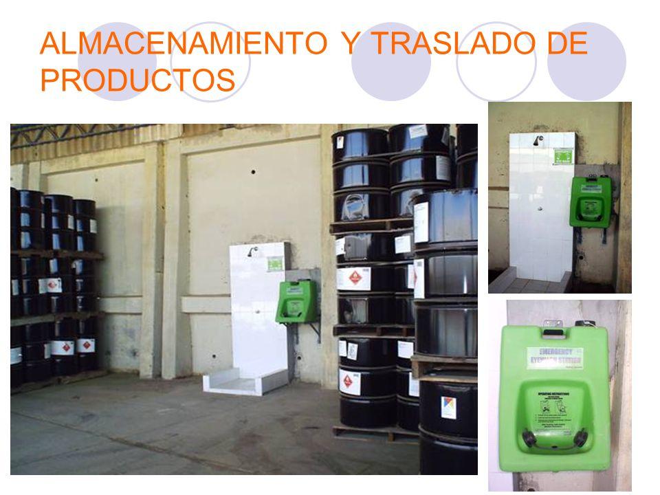 ALMACENAMIENTO Y TRASLADO DE PRODUCTOS