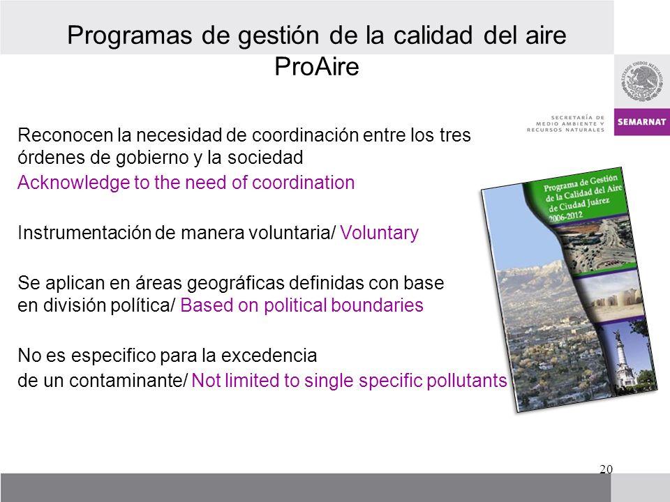 Reconocen la necesidad de coordinación entre los tres órdenes de gobierno y la sociedad Acknowledge to the need of coordination Instrumentación de man