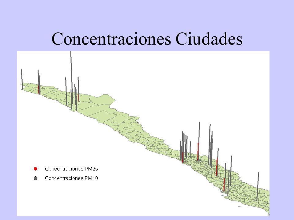 42 Concentraciones Ciudades