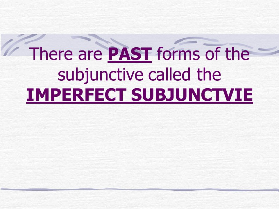 Contrary to Fact Statements When we want to express an if / then statement that is contrary to fact we will use the Imperfect Subjunctive for the if statement and the Conditional for the then statement.
