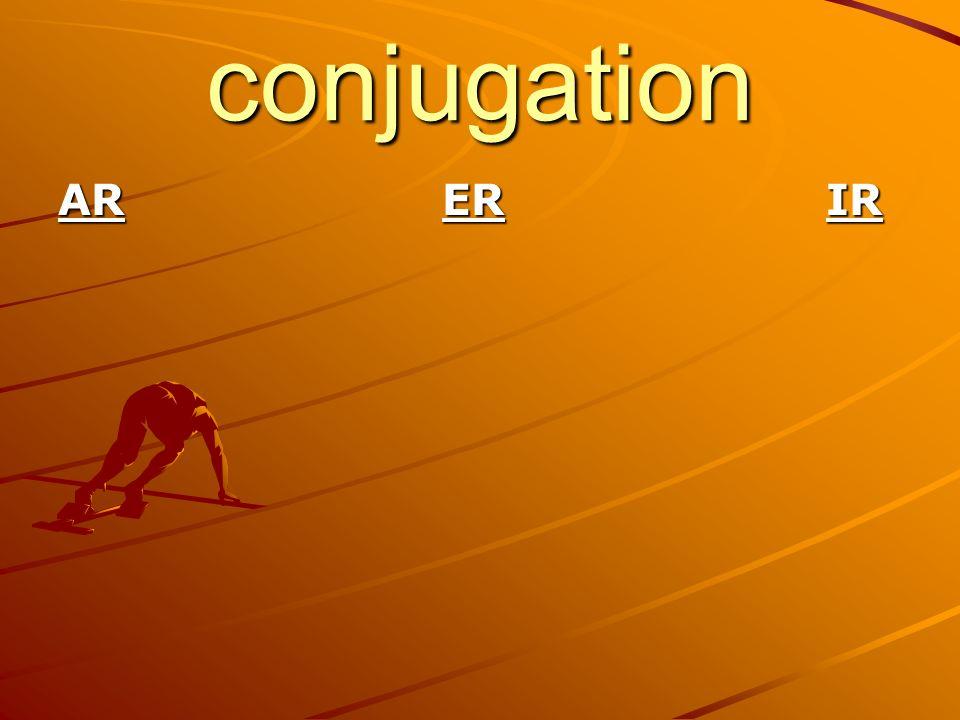 conjugation ARERIR